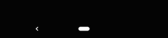 Android Q 画面下部に表示されるナビゲーション用の2つのボタン