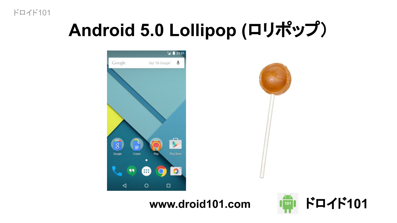 Android ロリポップ